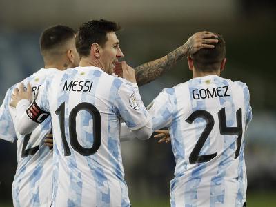 Lionel Messi dvoma gólmi