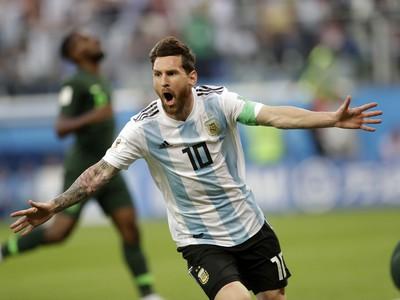 Kapitán Argentíny Lionel Messi