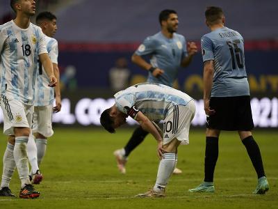 Lionel Messi v úlohe kapitána Argentíny