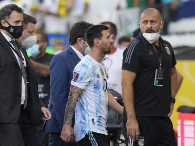 Lionel Messi po zastavení