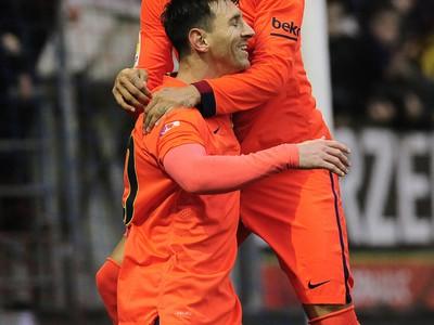 Lionel Messi a Neymar