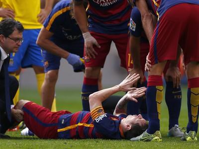 Lionel Messi si porazil