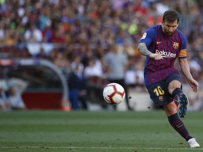 Lionel Messi opäť hviezdil