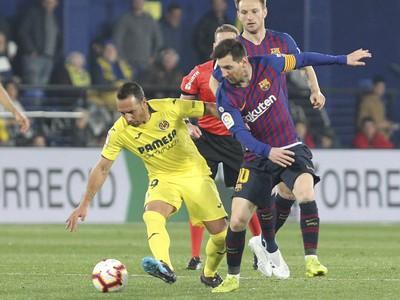 Lionel Messi a Santi
