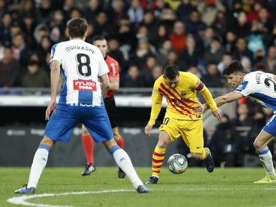 Lionel Messi a Marc Roca