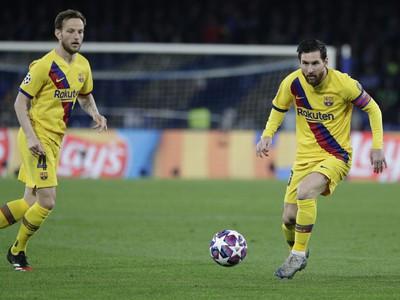 Lionel Messi a Ivan Rakitič