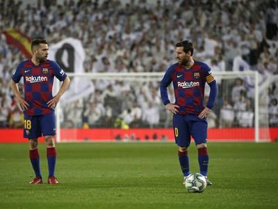 Jordi Alba a Lionel