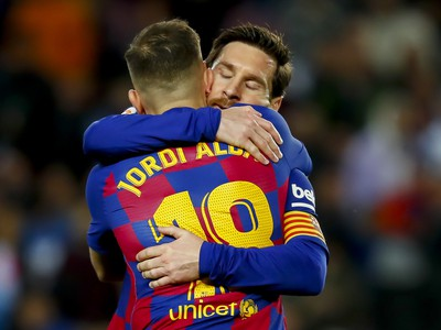 Lionel Messi a Jordi