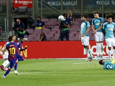 Lionel Messi strelil krásny