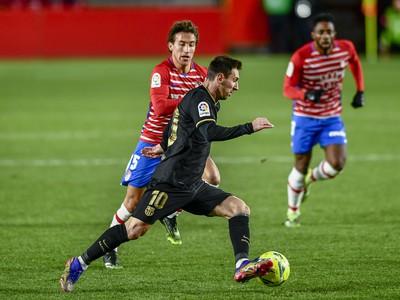 Lionel Messi opäť raz hrdinom Barcelony
