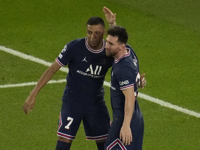 Kylian Mbappé a Lionel