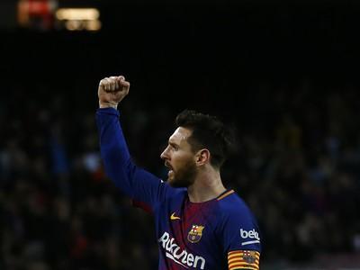 Lionel Messi sa teší
