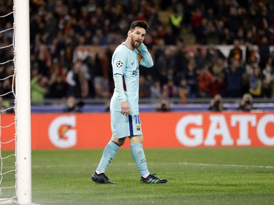 Futbalista FC Barcelona Lionel