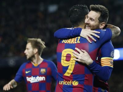 Luis Suárez a Lionel