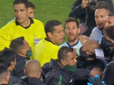 Lionel Messi v roztržke