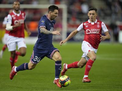 Lionel Messi pri debute