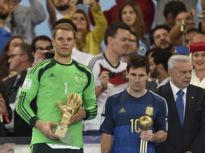 Manuel Neuer a Lionel
