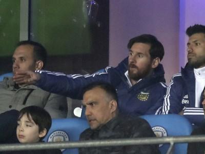 Lionel Messi a Sergio