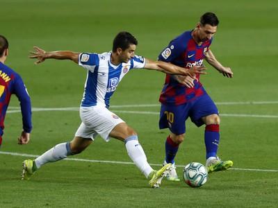 Lionel Messi a Marc