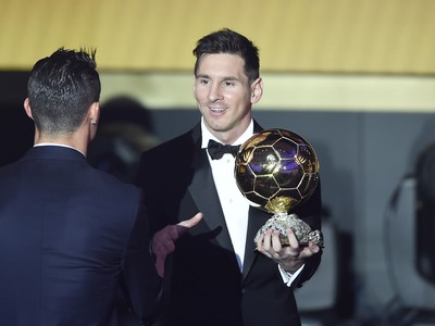 Zlatá lopta piatykrát Messimu
