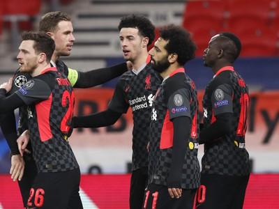 Radosť futbalistov Liverpoolu