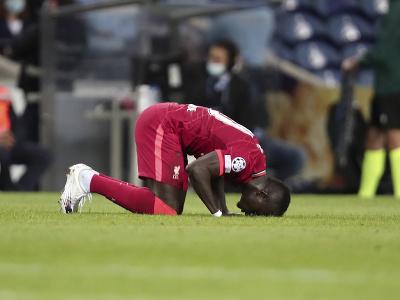 Sadio Mané oslavuje gól Liverpoolu