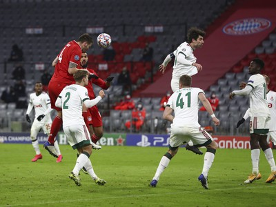 Niklas Suele dáva gól Bayernu