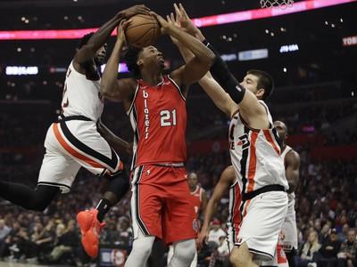 Hassan Whiteside narazil na obranný val Clippers