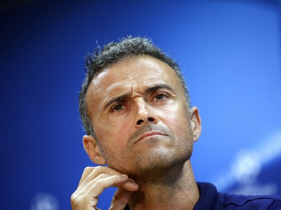 Tréner Luis Enrique