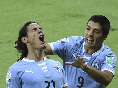 Edinson Cavani a Luis