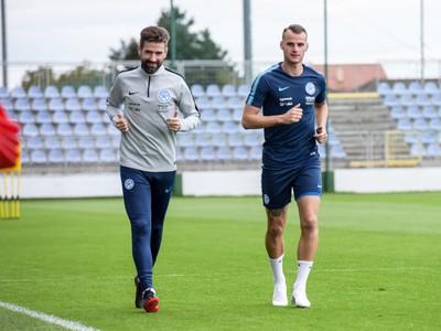 Lukáš Pauschek počas tréningu