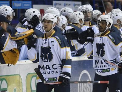 Na snímke radosť hokejistov