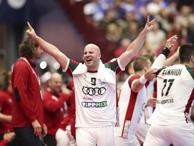 Zsolt Balogh oslavuje víťazstvo