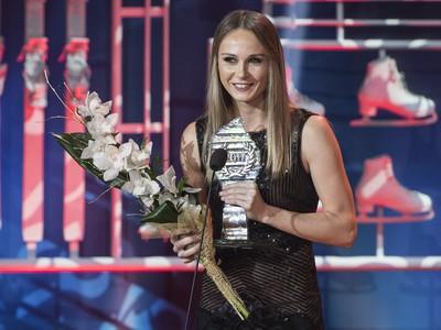 Tenistka Magdaléna Rybáriková si prevzala cenu za 5. miesto v kategórii Jednotlivci