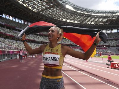 Nemecká atlétka Malaika Mihambová