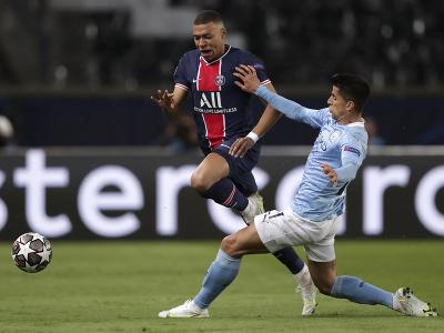 Kylian Mbappé a Joao Cancelo