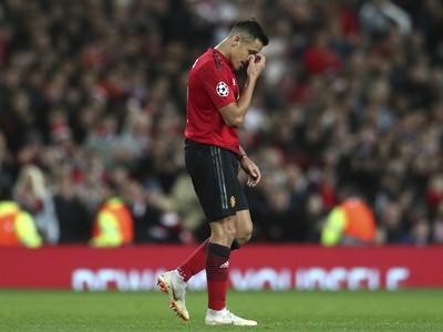 Smutný pohľad Alexisa Sáncheza