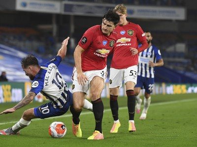 Harry Maguire a Alexis Mac Allister