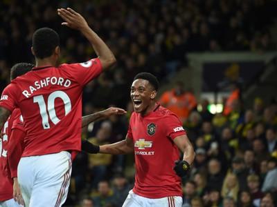 Hráči United sa tešia