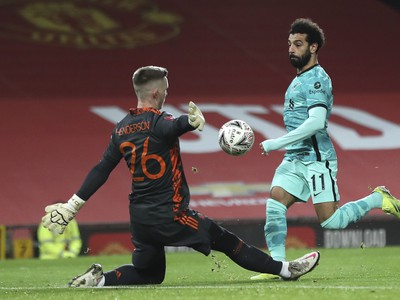 Mohamed Salah prekonal brankára United