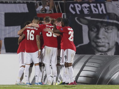 Gólová radosť hráčov United