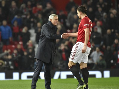 José Mourinho a Harry Maguire