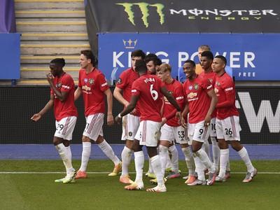 Gólové oslavy futbalistov United