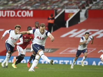 Harry Kane dáva gól