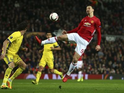 Zlatan Ibrahimovič v súboji
