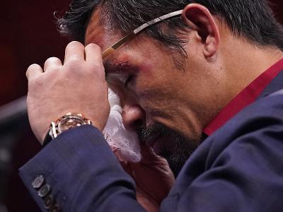 Manny Pacquiao po zápase v slzách