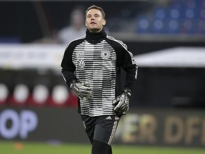 Nemecký brankár Manuel Neuer