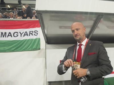 Tréner Maďarska Marco Rosi