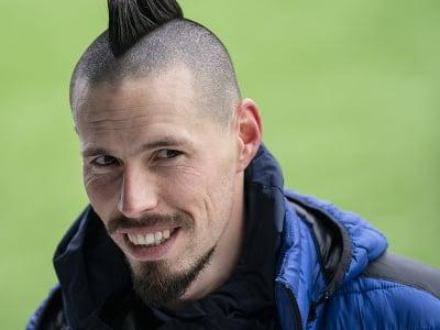 Slovenský futbalista Marek Hamšík
