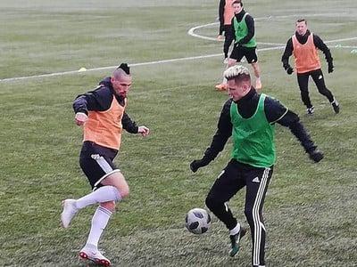 Marek Hamšík trénuje so